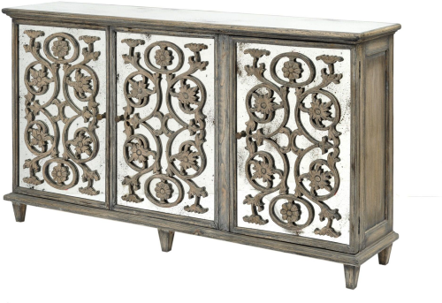 Roxborough Mindi Wooden Mirror Sideboard